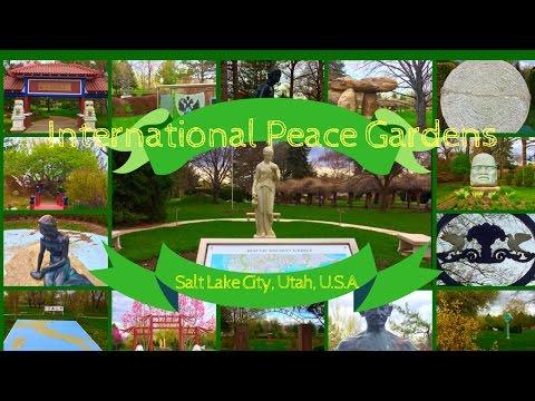 International Peace Gardens, Salt Lake City, Utah, U. S. A.