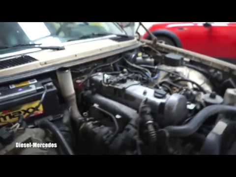 Mercedes W123 how to remove engine hood