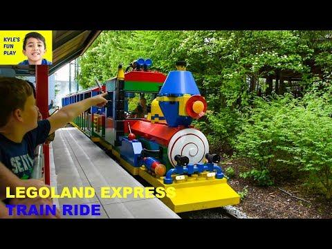 LEGOLAND DEUTSCHLAND Amusement Park: LEGOLAND Express Train Ride for Family