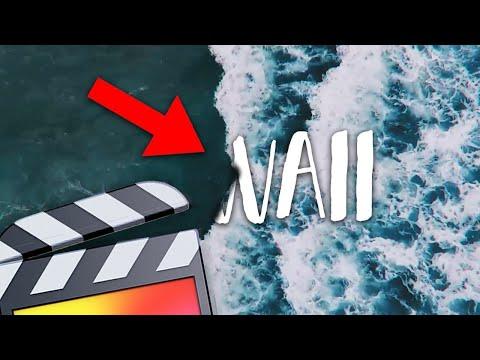 Ocean Wave Text Reveal - Final Cut Pro X