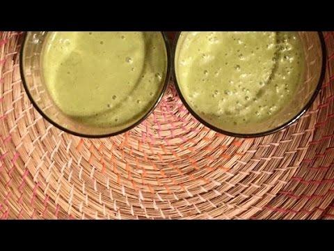 Easy Moringa Coconut Smoothie Recipe