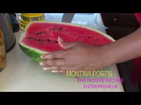 Learn How to Cut a Watermelon Into Cubes - Super Easy & Fast!