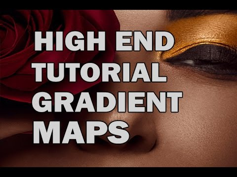 How To Create Accurate Gradient Maps To Color Correct Skin Tones In Photoshop-HIGH END RETOUCHING HD