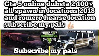 GTA 5 Online May 2018 Update Rare Vehicle Spawn Romeo Hearse - How