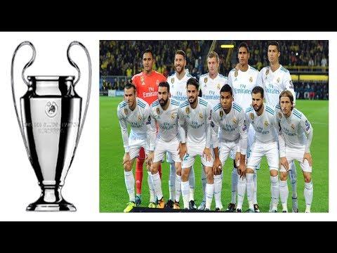 REAL vs BAYERN : Real Madrid's starting lineup against Bayern Munchen CHAMPIONS LEAGUE 25/04/2018
