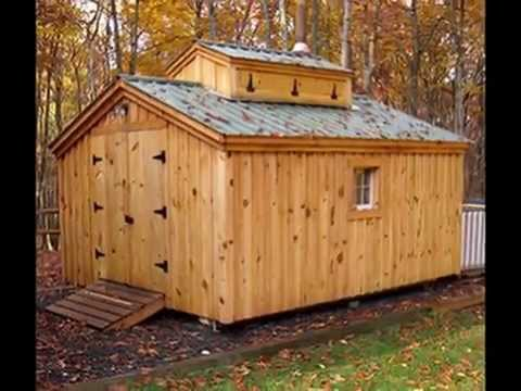 How to build a Sugar Shack (sugar house) plans $50