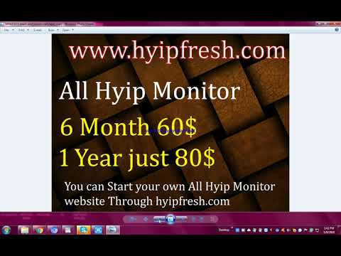 Open your own Hyip/Btc/Ptc Website  with low price !