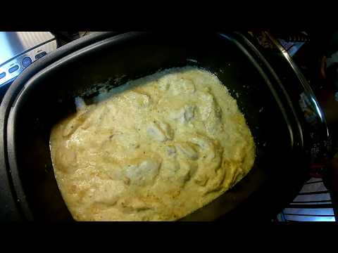 Creamy Italian Chicken  (Chicken Crock pot Freezer Meal- Part 3)