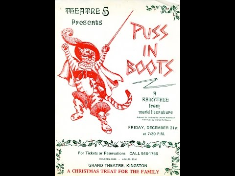 'Puss In Boots' - The Songs, with story narration, by Michael K. Myers