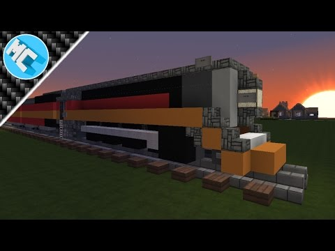 Minecraft: How to Build Southern Pacific 4449