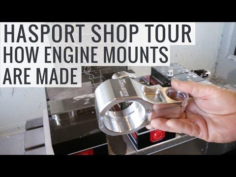 Improving Honda Engine Mounts For Better Performance - Hasport Shop Tour