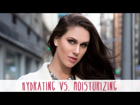 Acne & Dry Skin: Hydrating Vs Moisturizing | Cassandra Bankson