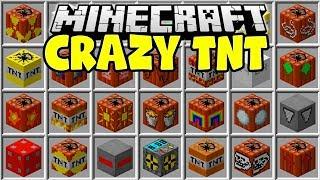 Minecraft INSANE TNT MOD | NUKES, METEORS, TROLL TNT!!
