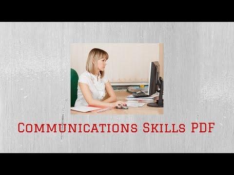 Communications Skills PDF| How to Improve Communications Skills | 10 Must-Have Communications Skills