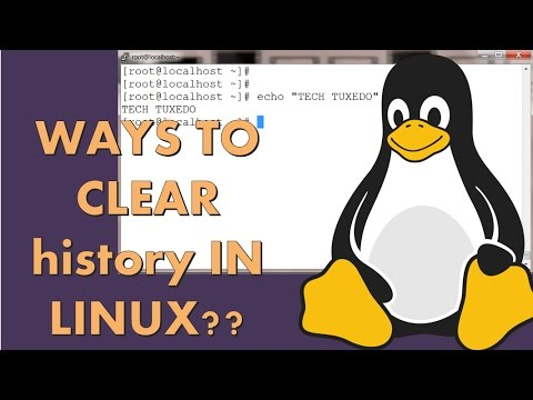 How to clear history in linux