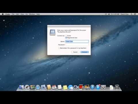 Configurare conectare la server FTP in MAC Apple