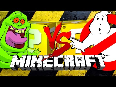 Minecraft   GHOSTBUSTERS LUCKY BLOCK CHALLENGE   BLASTER 2.0!!
