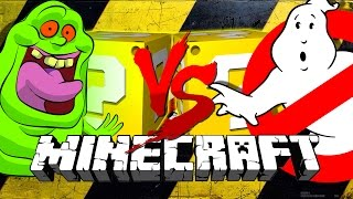 Minecraft | GHOSTBUSTERS LUCKY BLOCK CHALLENGE | BLASTER 2.0!!