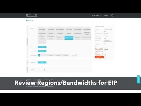 alibaba cloud how to add eip to ecs instance