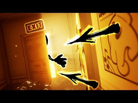 WE FOUND THE WAY OUT!! MASSIVE BENDY UPDATE!! - Chapter 1 (Bendy and The Ink Machine Chapter 4)