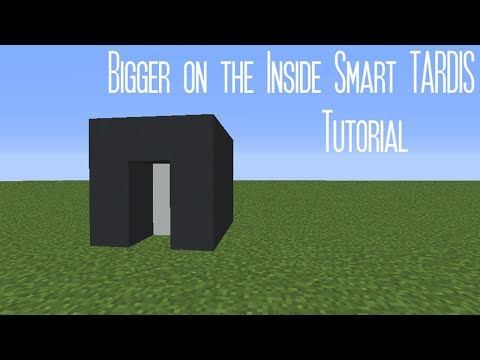 Bigger on the Inside Smart TARDIS Tutorial | Minecraft