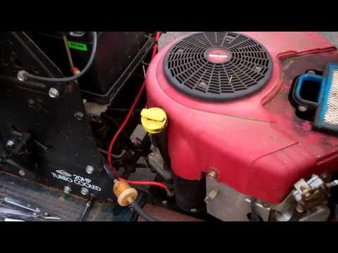 Craftman Lawn Tractor - 'No Start'; Diagnosis