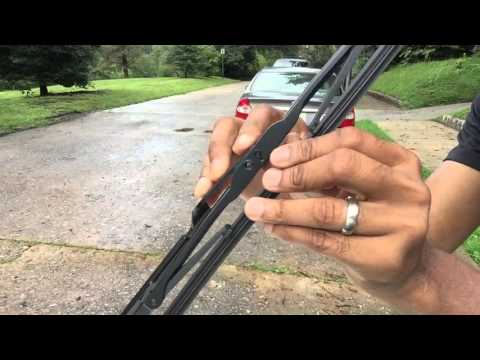 How to change 2012 Toyota Prius wiper blades