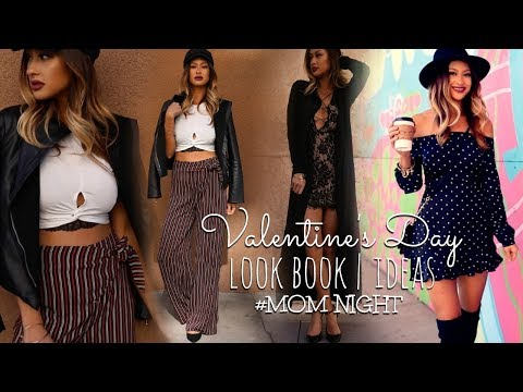 VALENTINE'S DAY OUTFITS | Mom Night Out (no kids lol) 3 Ideas