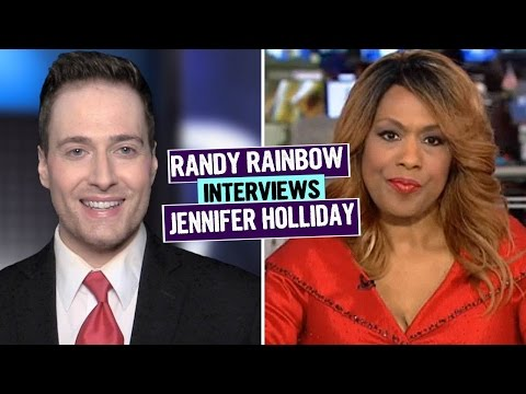 Randy Rainbow Interviews Jennifer Holliday 🎤