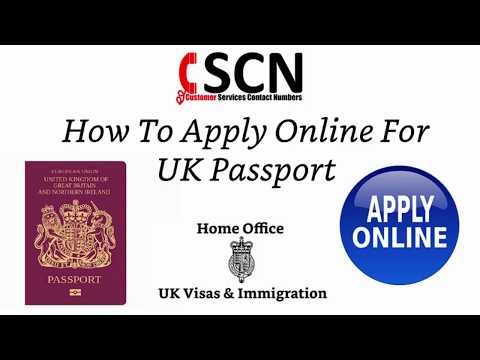 How To Apply Online For UK Passport