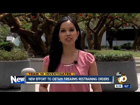 New effort to obtain firearms restraining orders in San Diego