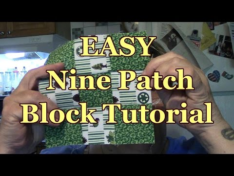 Make a PPRECISE & EASY Nine Patch Quilt Block