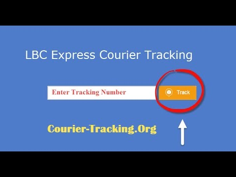 LBC Express Courier Tracking Guide