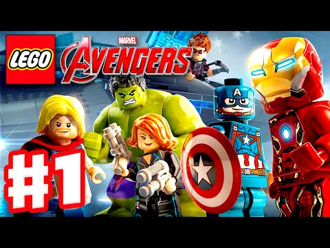 LEGO Marvel's Avengers - Gameplay Walkthrough Part 1 - Captain America, Iron Man, Thor, Hulk! (PC)