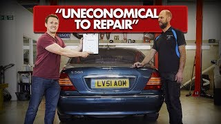 £990 Mercedes S500 Has The LARGEST Repair Bill I've Ever Seen!