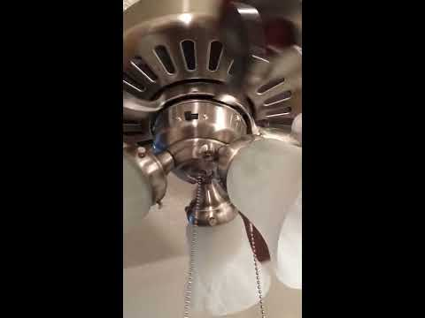How to fix ceiling fan lights that don't work on a Hunter Ridgefield