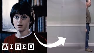 Real-Life 'Invisibility Cloak' Explained   WIRED