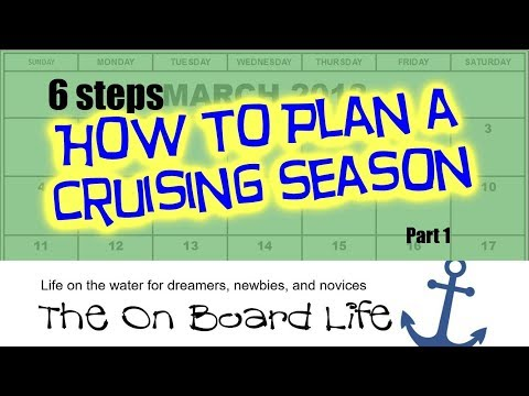 Liveaboard Boating: 6 steps How To Plan a Cruising Season (Part 1) 2018
