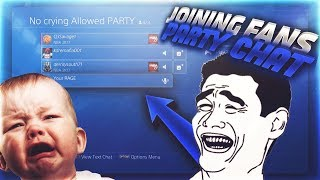 I Joined My Subscribers Party Chats. Hilarious Trolling & Reactions