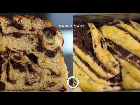 Babka Cake – Bruno Albouze – THE REAL DEAL