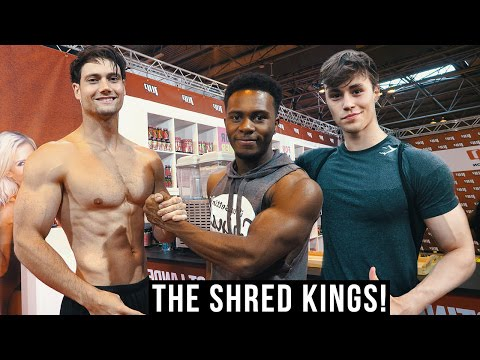 TRAINING W/ THE FULL GYMSHARK CREW | BODYPOWER | CONNOR MURPHY | DAVID LAID