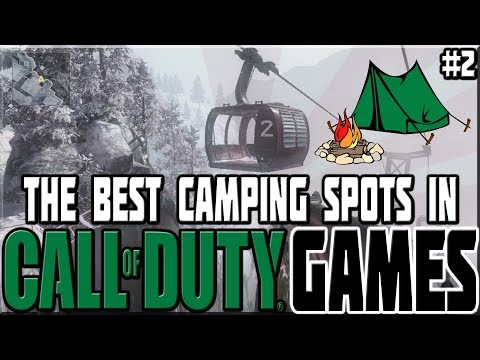 BEST CAMPING SPOTS IN CALL OF DUTY GAMES! #2