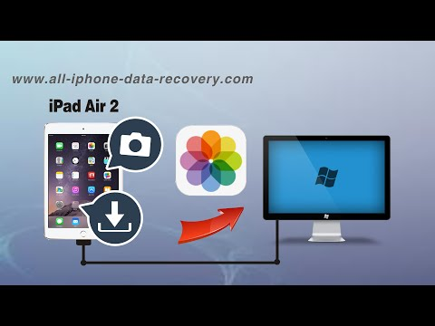How to Backup Photos from iPad Air 2 to PC, iPad Air 2 Pictures to Computer