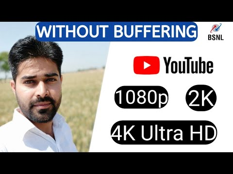 Full HD 2K 4K Without buffering | BSNL Broadband Rs 249 | 8 Mbps speed - Dinesh Saharan