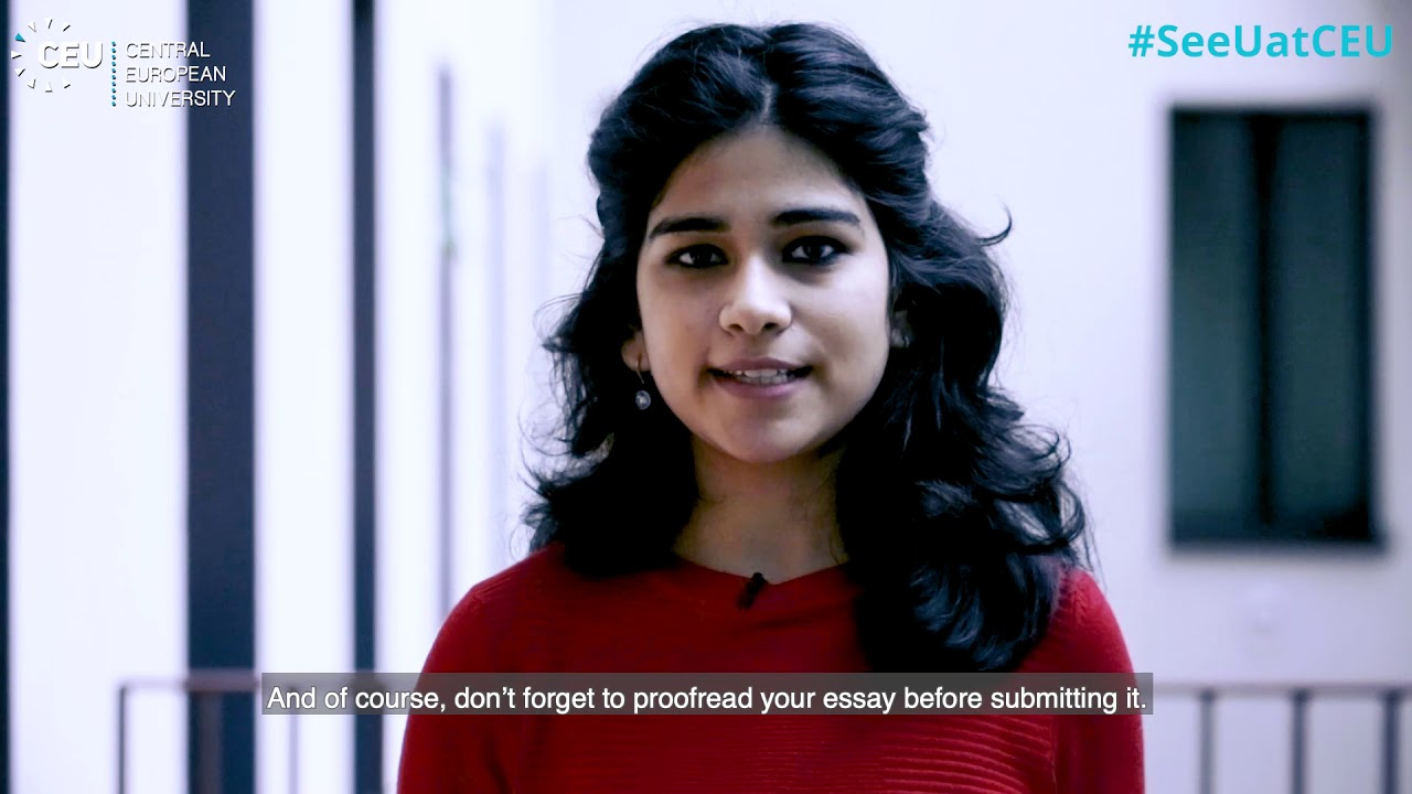 Top 10 Application Tips from CEU Students