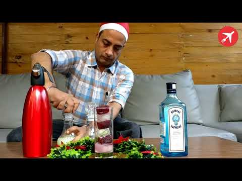 Christmas Gin & Tonic