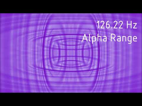 Pure 126.22 Hz Alpha Range Binaural Beats [30 min]