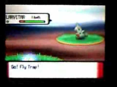 Pokemon Diamond  where to find Larvitar