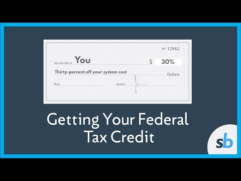 How Do I Get the Federal Tax Credit for Solar?