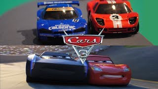 """Cars 3 """"Rivalry"""" Official Trailer - StopMotion Comparison"""